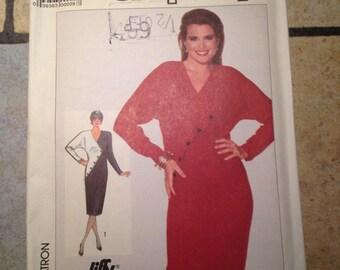 Simplicity 7803 Size 16, 18, 20 Misses' Dress Jiffy Pattern UNCUT