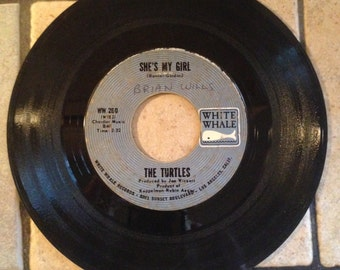 She's My Girl/Chicken Little Was Right by The Turtles Record by White Whale Records