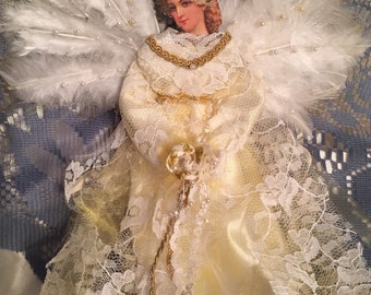 Shabby Chic Angel ornament