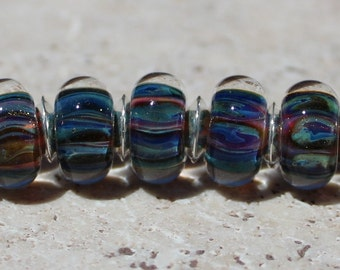 TOTAL ECLIPSE Artisan boro beads by JRG