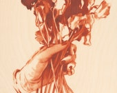 Handful - Original oil painting on wood panel - 8x10 in