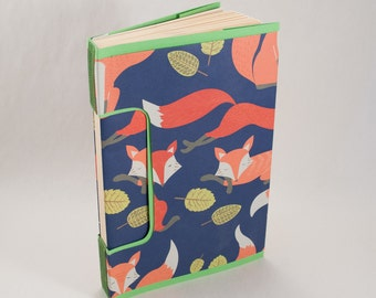 Foxy Nature Journal, Notebook or Guestbook with Lined Pages