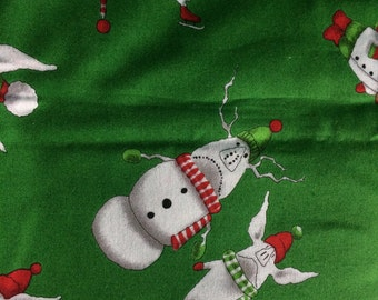 Rare Olivia the Pig Christmas Fabric by Andover