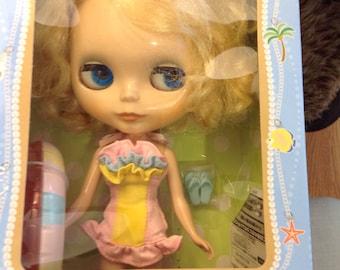 Blythe doll Encore Prima Dolly Saffy complete in box
