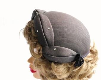 Vintage- Calot- 1940s -1950s Vogue Hat...SALE was 45.00