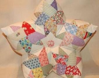 3-D Star Pillow Pattern