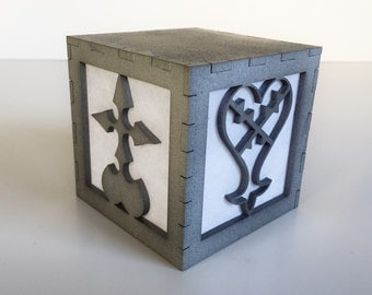 Kingdom Hearts Heartless and Nobody light box