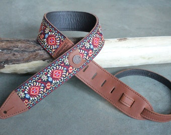 Gypsy Leather Guitar Strap