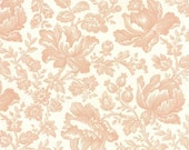 End of the Year SALE Whitewashed by 3 sisters for Moda Floral Damask in Pink