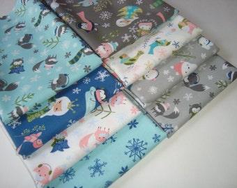 Winter Wonderland by Heather Rosas for Camelot fabrics Fat Quarter set