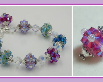 Razzle Dazzle Bracelet PDF Jewelry Making Tutorial (INSTANT DOWNLOAD)