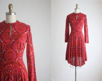 1960s folk dress