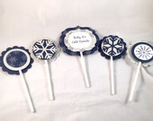 Baby It's Cold Outside Cupcake Toppers Set of 12