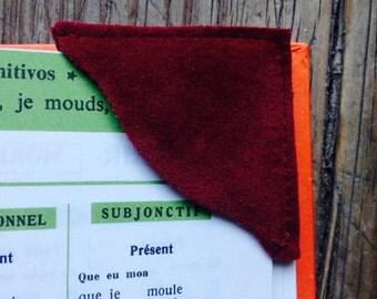Velvet Book mark