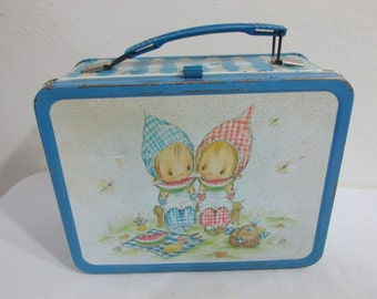 Metal Lunch Box Betsy Clark Hallmark Precious Moments