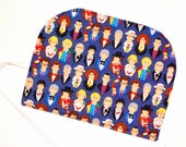 Dr Who Crochet Hook Organizer Who's Your Favorite Doctor? DPN Storage Case Pencil case  gift for knitter geek gift BBC  Quiltsy Handmade