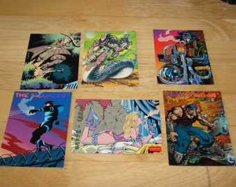 The Creators Universe 1993 by Dynamic Entertainment Trading Cards 6 cards