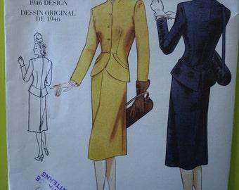 Vogue 2353 Vintage  Misses Jacket and Skirt  Size 6-8-10  New Uncut
