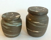 Marbled Jars - Set of Two