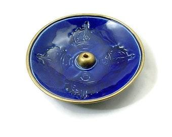 VAJRA INCENSE BURNER Handmade Ceramic Pottery