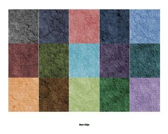 Downloadable Printable Textured Scrapbooking Paper / Dollhouse Wallpaper
