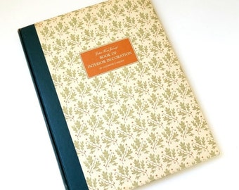 Ladies Home Journal Book of Interior Decoration by Elizabeth Halsey 1954 Oversized Hc / From Traditional, Asian, Atomic to Mid Century