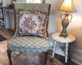 Vintage/Antique Ball and Claw Stool/Accent Table