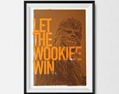 Star Wars, Inspired, Print, Chewbacca, Star Wars Print, Star Wars Poster, Star Wars Gift