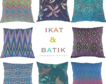 WHOLESALE, 30 PIECES, Pillow, Cushion, Cotton, Ikat, Ethnic, Bohemian, Tropical, Industrial, Graphic, Global Decor, Bali