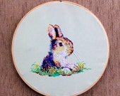Rocco Out of the Rabbit Hole - CROSS STITCH PATTERN pdf