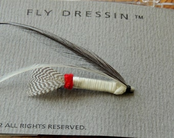 1992 Fly Dressin Pin in the original box