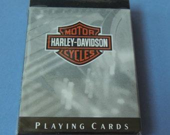 Harley Davidson Playing Cards, Sealed