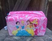New Disney Princesses Zipper Pouch