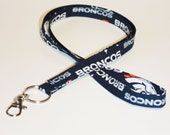 For the Broncos Fan  ID badge holder