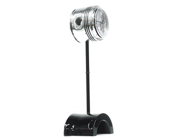 High in the Sky Continental Motors 0-200 C90 Airplane Engine Polished Chrome Piston Pinup Lamp - Awesome Gift