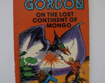 "Vintage 1967 Sci-Fi Classic ""Flash Gordon On the Lost Continent of Mongo"" By, Al Williamson"