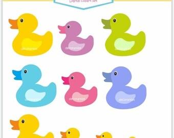 ON SALE rubber duck clipart , Clip art Duck bath, cute duck bath toy . , instant download  PNG File