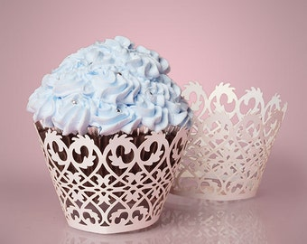 Iron Fence Cupcake Wrappers - 50ct