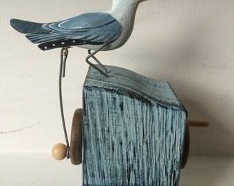 Pecking Seagull
