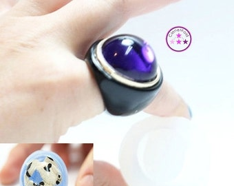25% SALE Bubbled Dome Ring Mold