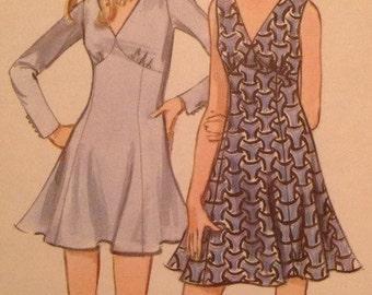 Vintage Butterick 5673 Misses' Summer Dress • size 10