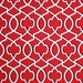 Reserved listing, Morrow red, white black, tablerunner plus 2 yds fabric