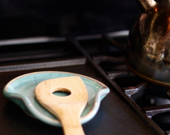 Ceramic Spoon Rest | Ready to Ship