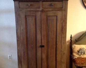Farmhouse Rustic Cabinet/Cupboard