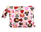 Diaper Bag Essential- Princess Power Wet Bag for Cloth Diapers, Mama Cloth, Wet Swimsuits And So Much More - FAST SHIPPING