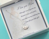 Mother of the Bride Necklace Gift, Mother Of The Bride Necklace,Mother of Bride Gift, Wedding gift for Mother, Mother's Necklace