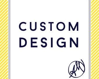 Invitation Custom Design   Announcement Custom Design   Note Card Custom Design   Thank You Card Custom Design