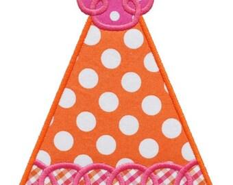 699 Birthday Hat 2 Machine Embroidery Applique Designs