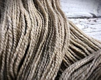 undyed chunky yarn, undyed handspun yarn, undyed thick yarn, natural yarn, thick knitting wool, pure wool, knitters gift, hipster yarn