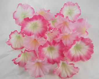 Pink Silk Flowers crafting scrapbooking trumpet floral pink flowers artificial flowers pretty crafts
